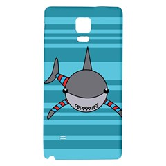 Shark Sea Fish Animal Ocean Galaxy Note 4 Back Case