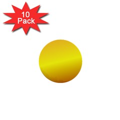 Gradient Orange Heat 1  Mini Buttons (10 Pack)