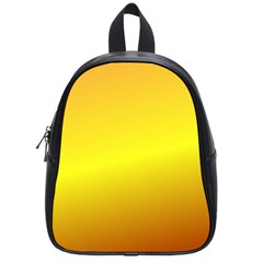 Gradient Orange Heat School Bag (small)