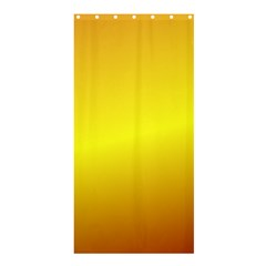 Gradient Orange Heat Shower Curtain 36  X 72  (stall)