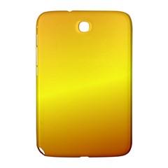 Gradient Orange Heat Samsung Galaxy Note 8 0 N5100 Hardshell Case