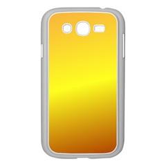 Gradient Orange Heat Samsung Galaxy Grand Duos I9082 Case (white)
