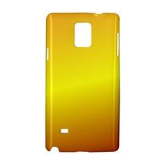 Gradient Orange Heat Samsung Galaxy Note 4 Hardshell Case