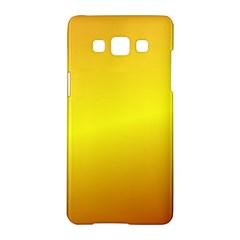 Gradient Orange Heat Samsung Galaxy A5 Hardshell Case
