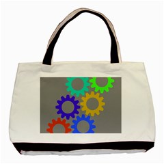 Gear Transmission Options Settings Basic Tote Bag