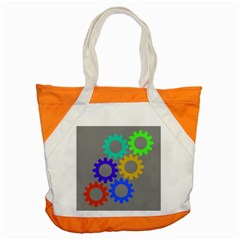 Gear Transmission Options Settings Accent Tote Bag