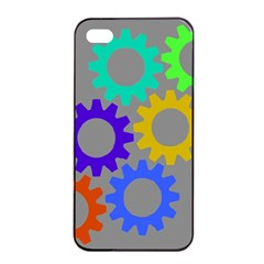 Gear Transmission Options Settings Apple Iphone 4/4s Seamless Case (black)