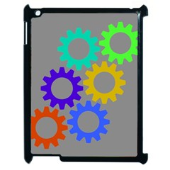Gear Transmission Options Settings Apple Ipad 2 Case (black)