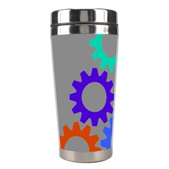 Gear Transmission Options Settings Stainless Steel Travel Tumblers