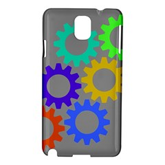 Gear Transmission Options Settings Samsung Galaxy Note 3 N9005 Hardshell Case