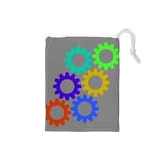 Gear Transmission Options Settings Drawstring Pouches (small)