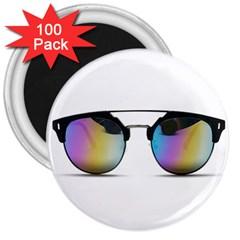 Sunglasses Shades Eyewear 3  Magnets (100 Pack)