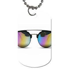 Sunglasses Shades Eyewear Dog Tag (two Sides)