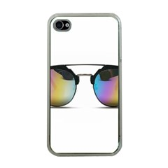 Sunglasses Shades Eyewear Apple Iphone 4 Case (clear)