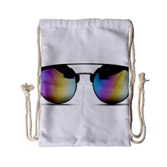 Sunglasses Shades Eyewear Drawstring Bag (small)