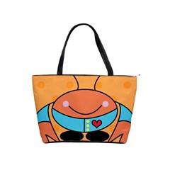 Crab Sea Ocean Animal Design Shoulder Handbags