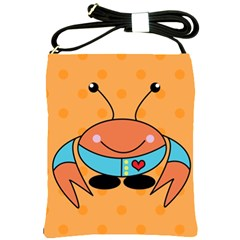 Crab Sea Ocean Animal Design Shoulder Sling Bags