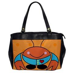 Crab Sea Ocean Animal Design Office Handbags
