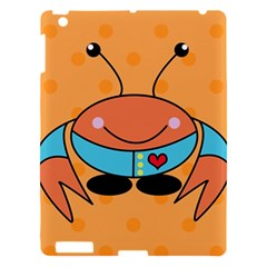 Crab Sea Ocean Animal Design Apple Ipad 3/4 Hardshell Case