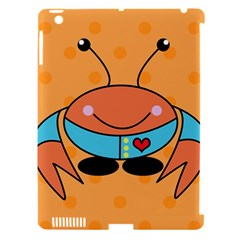 Crab Sea Ocean Animal Design Apple Ipad 3/4 Hardshell Case (compatible With Smart Cover)