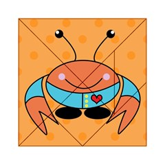 Crab Sea Ocean Animal Design Acrylic Tangram Puzzle (6  X 6 )