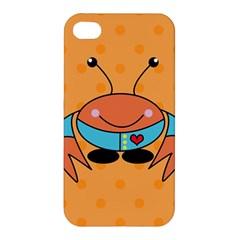 Crab Sea Ocean Animal Design Apple Iphone 4/4s Premium Hardshell Case