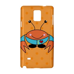 Crab Sea Ocean Animal Design Samsung Galaxy Note 4 Hardshell Case