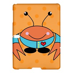Crab Sea Ocean Animal Design Samsung Galaxy Tab S (10 5 ) Hardshell Case