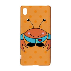 Crab Sea Ocean Animal Design Sony Xperia Z3+