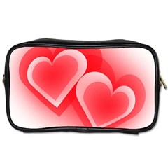 Heart Love Romantic Art Abstract Toiletries Bags 2 Side