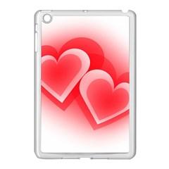 Heart Love Romantic Art Abstract Apple Ipad Mini Case (white)