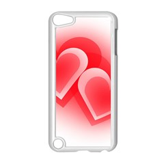 Heart Love Romantic Art Abstract Apple Ipod Touch 5 Case (white)