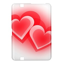 Heart Love Romantic Art Abstract Kindle Fire Hd 8 9