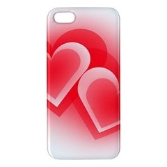 Heart Love Romantic Art Abstract Apple Iphone 5 Premium Hardshell Case