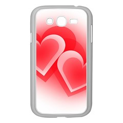 Heart Love Romantic Art Abstract Samsung Galaxy Grand Duos I9082 Case (white)