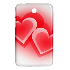 Heart Love Romantic Art Abstract Samsung Galaxy Tab 3 (7 ) P3200 Hardshell Case