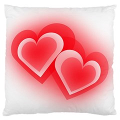 Heart Love Romantic Art Abstract Standard Flano Cushion Case (one Side)