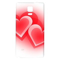 Heart Love Romantic Art Abstract Galaxy Note 4 Back Case