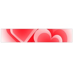 Heart Love Romantic Art Abstract Flano Scarf (large)