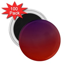 Course Colorful Pattern Abstract 2 25  Magnets (100 Pack)