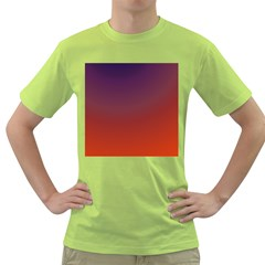Course Colorful Pattern Abstract Green T Shirt