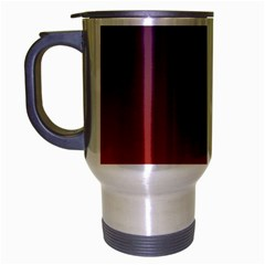 Course Colorful Pattern Abstract Travel Mug (silver Gray)