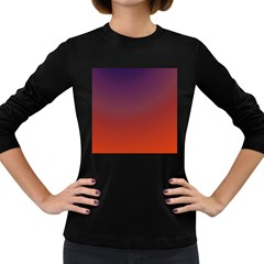 Course Colorful Pattern Abstract Women s Long Sleeve Dark T Shirts