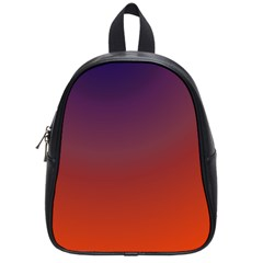 Course Colorful Pattern Abstract School Bag (small)