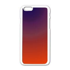 Course Colorful Pattern Abstract Apple Iphone 6/6s White Enamel Case