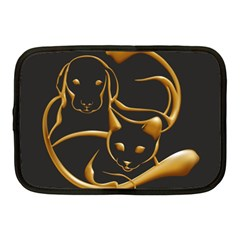 Gold Dog Cat Animal Jewel Dor¨| Netbook Case (medium)