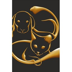 Gold Dog Cat Animal Jewel Dor¨| 5 5  X 8 5  Notebooks