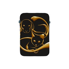 Gold Dog Cat Animal Jewel Dor¨| Apple Ipad Mini Protective Soft Cases