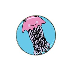 Jellyfish Cute Illustration Cartoon Hat Clip Ball Marker (10 Pack)