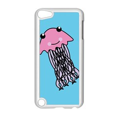 Jellyfish Cute Illustration Cartoon Apple Ipod Touch 5 Case (white)